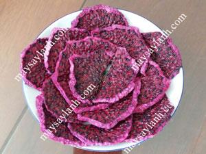 Hoa quả sấy lạnh, phương pháp sấy khô nhanh, màu đẹp, chất lượng tốt