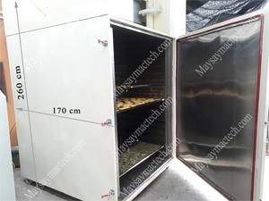 Máy sấy lạnh MSL3000, đáp ứng sấy khô tới 300kg sản phẩm các loại