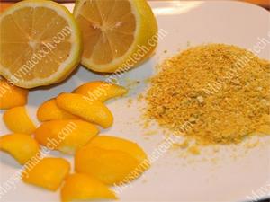 Cam sấy khô giòn sử dụng làm bột vỏ cam dùng trong thẩm mỹ