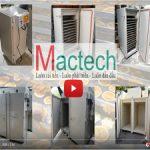Video máy sấy Mactech, kênh tổng hợp máy sấy và hướng dẫn sử dụng