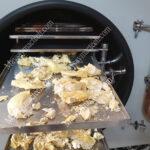 Sấy khô sầu riêng giữ nguyên hình dạng, màu sắc, khô giòn