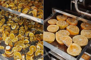 Cam sấy lạnh và cam sấy thăng hoa có đặc điểm gì khác nhau