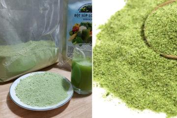 Bột rau củ sấy lạnh và sấy thăng hoa, nên sử dụng loại bột nào