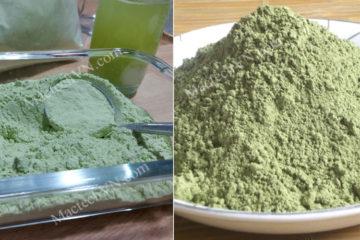 Bột rau củ sấy lạnh và sấy thăng hoa, loại bột nào tốt hơn