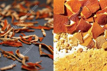 Cách làm bột vỏ cam, sử dụng phương pháp sấy khô vỏ cam phù hợp