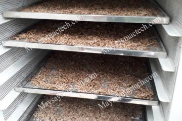 Phương pháp sấy sâu canxi cho chất lượng tốt, giữ dinh dưỡng